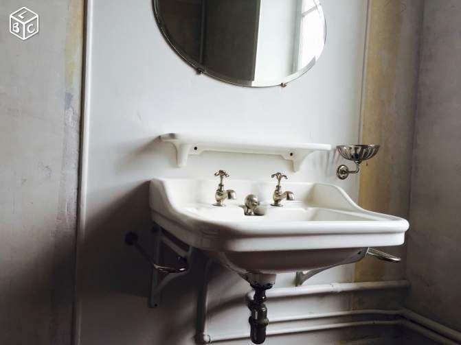 les 41 meilleures images du tableau salle de bain sur pinterest salle de bains robinets et. Black Bedroom Furniture Sets. Home Design Ideas