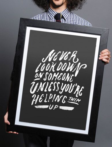 Get a print, help fund an anti-bullying program! http://www.sevenly.org/?cid=SEVPinterestSevenly