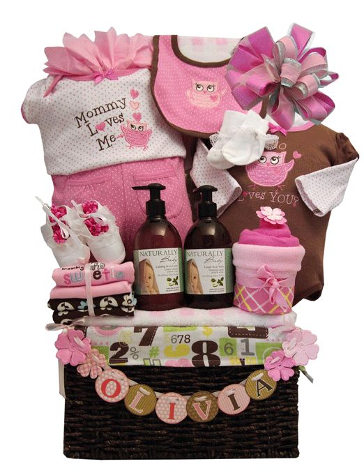 Baby Gift Baskets Canada Toronto : Personalized baby gift basket toronto baskets