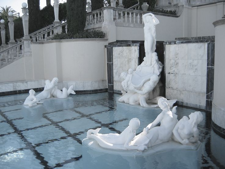 Marble Wallpaper With Quotes For Desktop Hearst Castle Fun Fact The Pool Water Isn T Treated With
