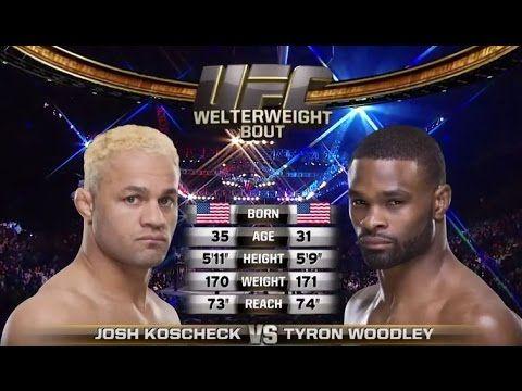 UFC 192 Free Fight: Tyron Woodley vs. Josh Koscheck - YouTube