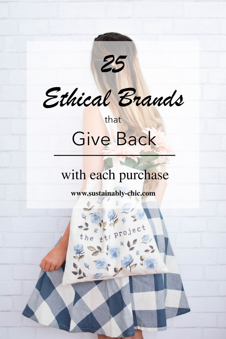A FEEL-GOOD BUY, FOR SURE | Whether it be a cause, a particular non-profit or a community, each of these brands dedicate partial profits to something more than the brand itself. With each purchase you make, a percentage goes into a mission they care for deeply. Not only are you supporting a sustainable product, you are sustaining a mission beyond the fashion industry.  #ethicalfashion #sustainablefashion