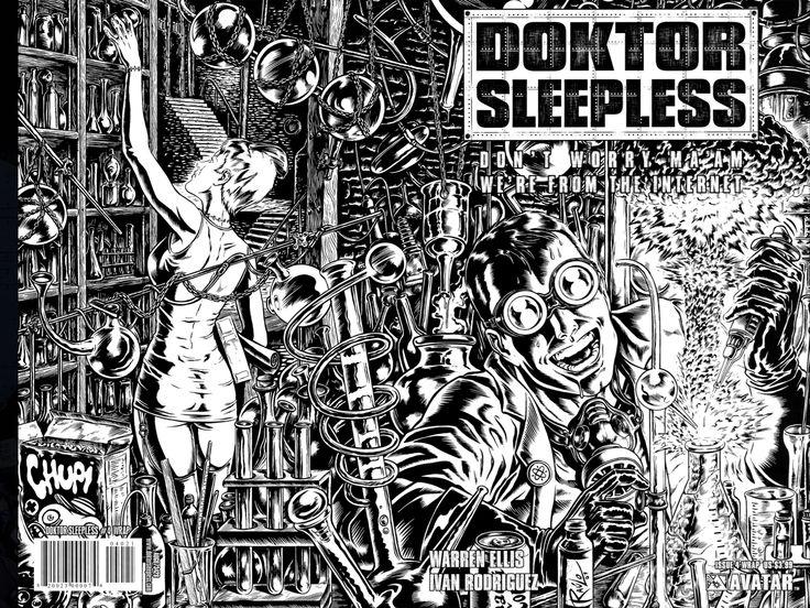 Doktor Sleepless By Warren Ellis