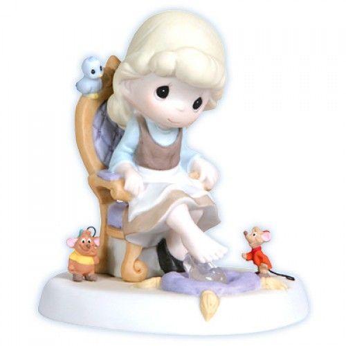 Precious moments Disney princesses | Cinderella - Precious Moments Disney Figurine, 114009 | Flossie's ...