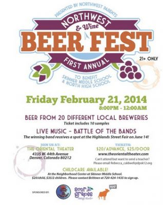 First Annual Northwest Denver Beer and Wine Fest!