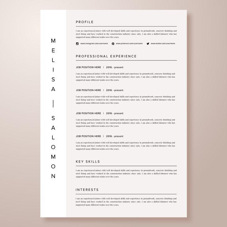 Resume, resume template, CV, resumeediting, resumeformat - experienced labourer trade assistant resume sample