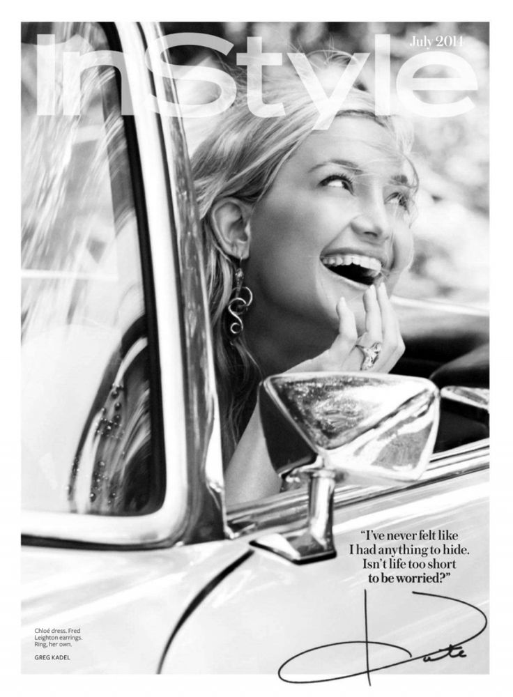 InStyle Editorial July 2014 - Kate Hudson by Greg Kadel
