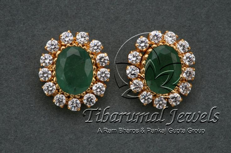 EAR TOPS | Tibarumal Jewels | Jewellers of Gems, Pearls, Diamonds, and Precious Stones