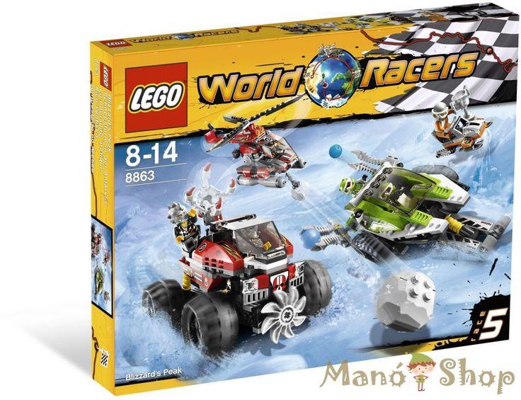 Lego World Racers Vad hóvihar 8863