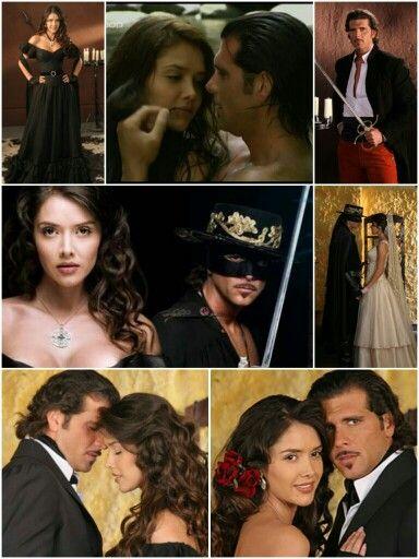Marlene Favela y Christian Meier en Zorro, la espada y la rosa!
