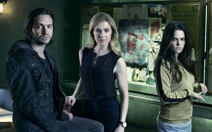 Download imagens 12 Macacos, 4k, 2017 moives, Aaron Stanford, Amanda Schull, Emily Hampshire
