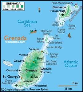 Best My Beautiful Triisland Grenada Carriacou And Petite - Road map of grenada island