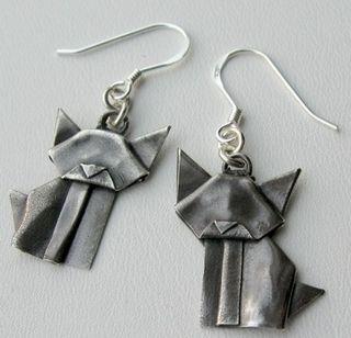 Handmade Origami Earrings......