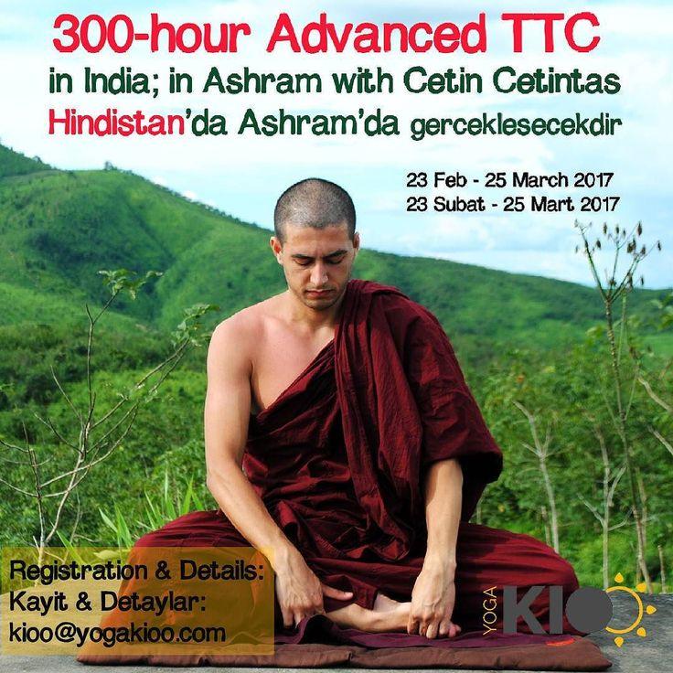 (Please scroll down for English)  Sonunda beklenen eğitimi açıklıyoruz   23 Şubat  25 Mart 2017 tarihleri arasında Hindistan'da Himalaya Dağları arasındaki Ashramda gerceklestirilecegimiz ileri seviye 300 saatlik Hatha Yoga Egitmenlik Kursu'nun ayrintilari kesinlesti. Egitim zihinsel ve fiziksel olarak zorlu calismalar icermektedir. Bu yuzden katilacak kisilerin pratiginin kuvvetli ve saglam temeller uzerine kurulu olmasi gerekmektedir. 32 gün sürecek olan bu eğitim boyunca Ashram yaşamını…