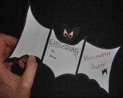 Halloweenkarten Selbst Basteln