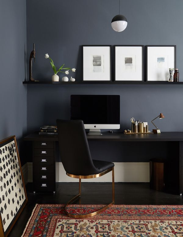 stylish office. playful style in this stunning san francisco home on apartment 34 stylish office
