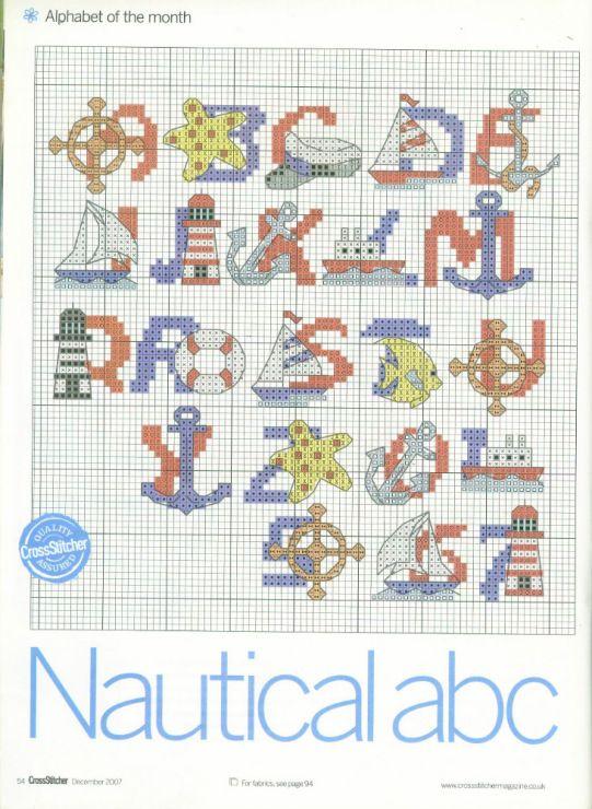 Nautical ABC's