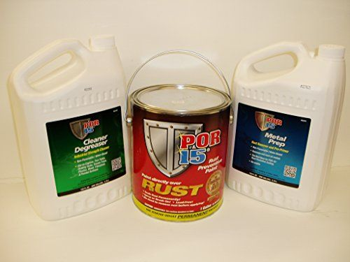 Por15 Gloss Black 3 Gallon Rust Preventative Paint Kit ** You can find out more…