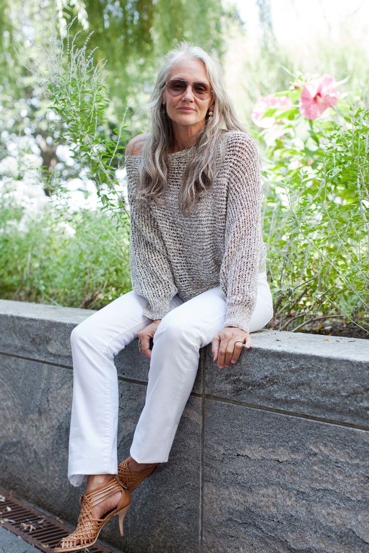 "How This 63-Year-Old Model Stays Gorgeous #refinery29  http://www.refinery29.com/51442#slide-7   You talk about being ""pro-age."" What's behind this philosophy?  ""We all grow up in an anti-age society. Aging is considered a negative experience. As I — and most of my generation, the Baby Boomers — am finding is that life and you get better as time goes by. You become more self-aware, more experienced, skilled, educated, discerning, and more aware. Life continues to be an adventure, and you…"