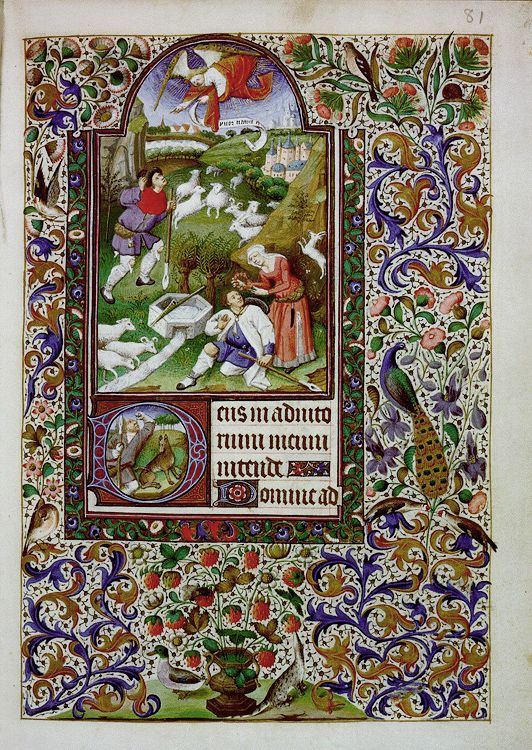 The Books of Hours from France and the Netherlands. 15th and 16th centuries
