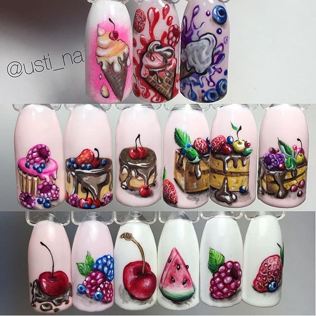 """496 Likes, 7 Comments - Маникюр / Ногти / Nails (@nails_masters) on Instagram: """"Мастер ➡️ @usti_na"""""""
