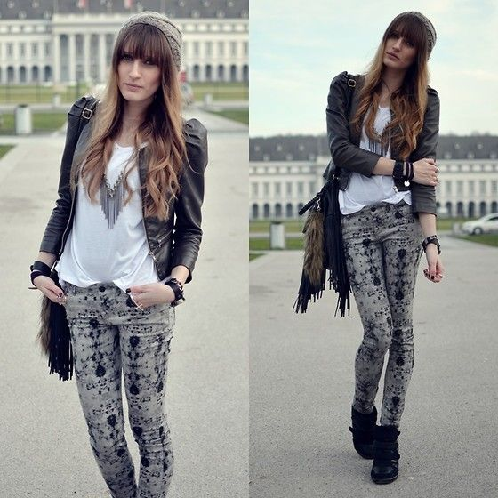 Shades of Grey (by Lisa Fiege) http://lookbook.nu/look/4353327-Shades-of-Grey