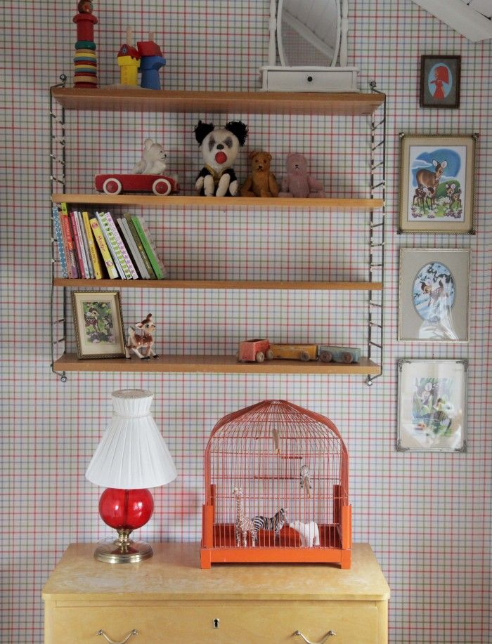 Childrens room / nursery - vintage style