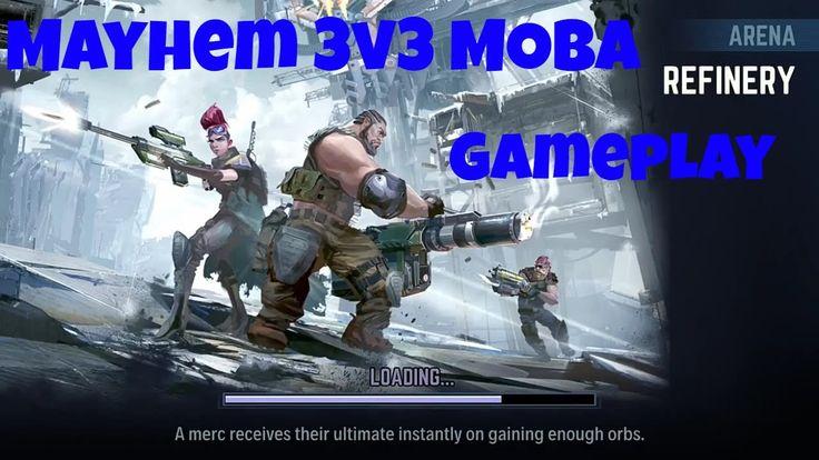 Mayhem - NEW 3v3 SHOOTER MOBA https://www.youtube.com/watch?v=NDQEVb3LmcA&t=451s