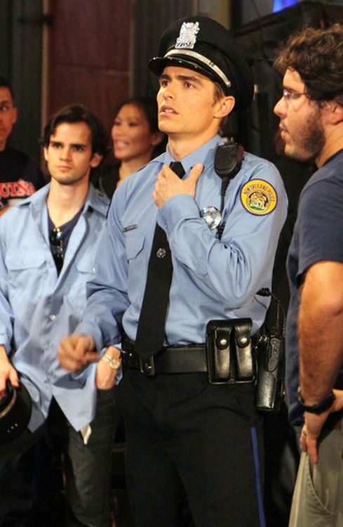 I'm pretty sure if Dave Franco was a cop, any girl would be VERY willing to go to jail<3