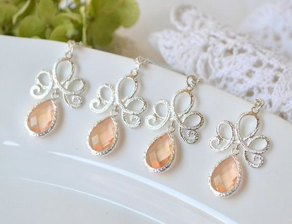 15 SALE Bridesmade Gift personalized by ArtemisBridalJewelry