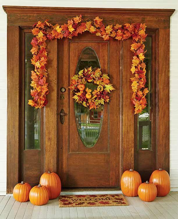 Easy Door Decorating Ideas: 25+ Best Ideas About Fall Door Decorations On Pinterest
