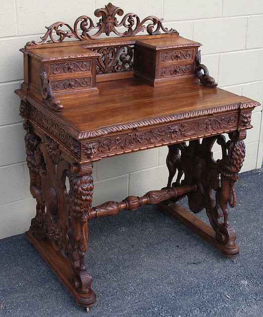 Build And Carve An Ornate Item Of Furniture With A Hidden Compartment