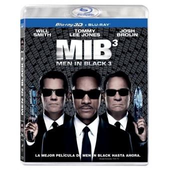 MIB3. MEN IN BLACK 3. #Comedia  #Comprar #Peliculas #BlurayEn sus 15 años con los Hombres de Negro, J (Will Smith) ha presenciado cosas inexplicable. Pero nada, ni siquiera los propios alenígenas, lo han desconcertado tanto como su irónico y reservado compañero.Pero cuando la vida de K (Tommy Lee Jones) y el destino...