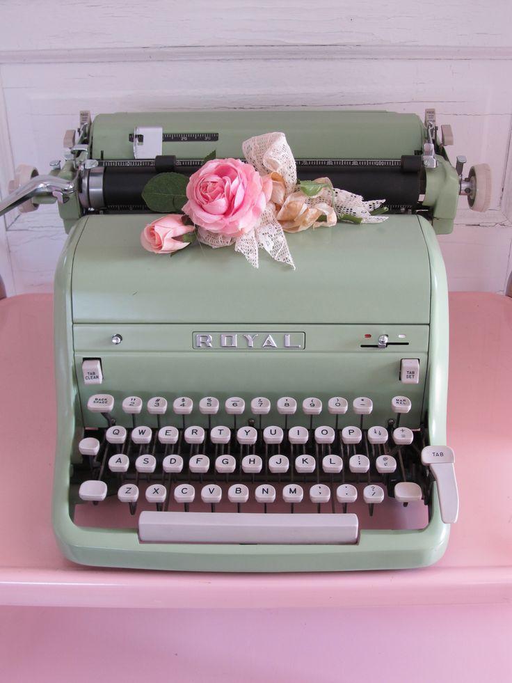 Die elektrische Schreibmaschine ist immer noch cool