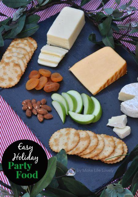 Easy Holiday Party Food Ideas  #HappyAllTheWay #shop #cbias