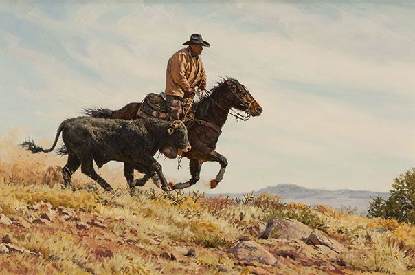 Bill Owen : Cowboy Artist : Original Paintings Available for Sale : Great American West Gallery, Grapevine Texas