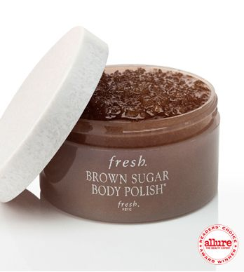 $36 BROWN SUGAR BODY POLISH 7oz supposed to leave skin so soft and HYDRATED that you don't need lotion afterwards.
