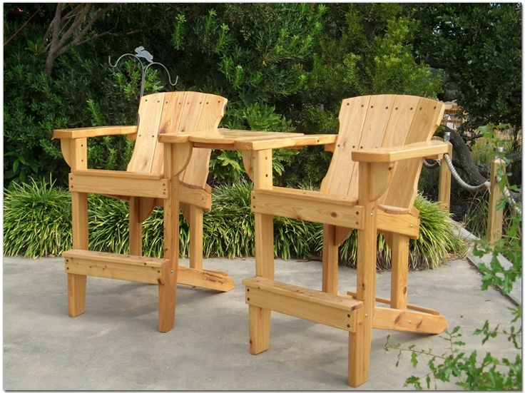 High Adirondack Chair   Maybe For Nick (handicap)