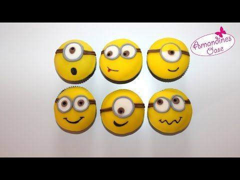 How to make Minion cupcakes - YouTube