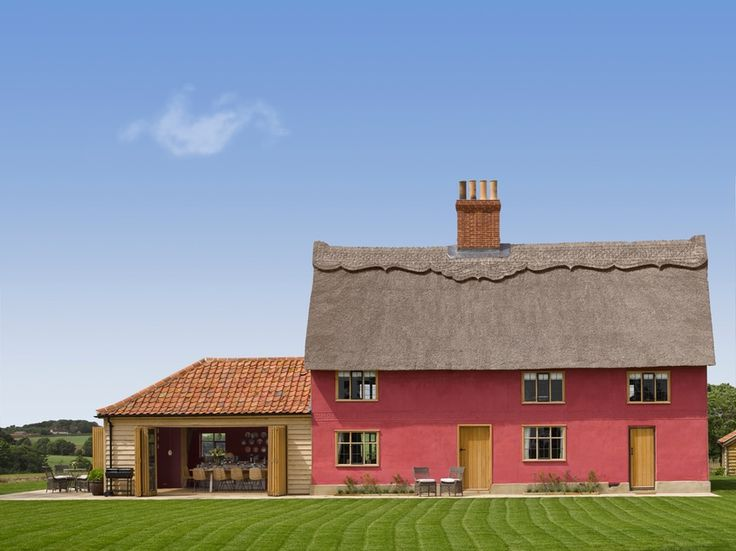 Tucked into rural Suffolk is your own Tudor style cottage, with valley views, your own moat and a very un-Tudor hot tub.