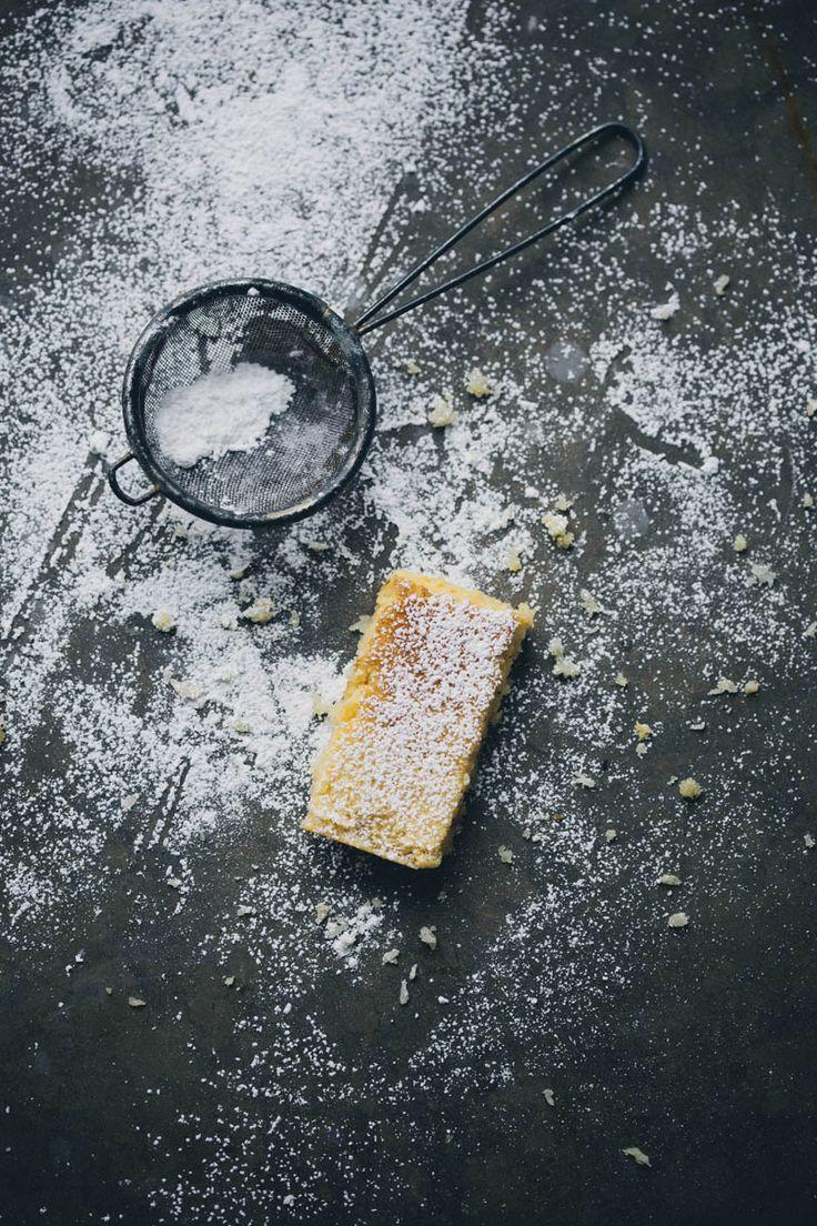 Lemon & Coconut Bars | Green Kitchen Stories