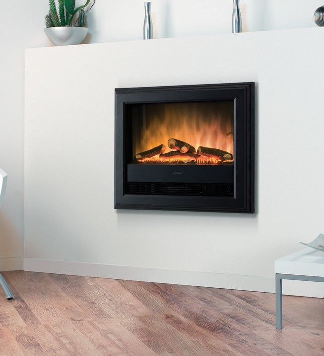 Wall mounted inset electric fire