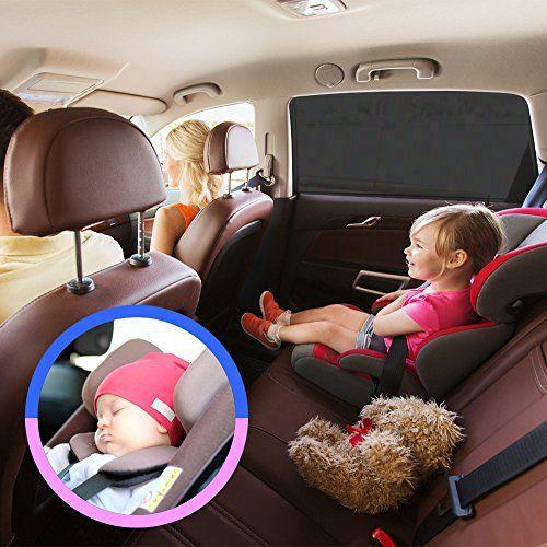 Couverture pare-soleil de fenêtre de voiture Auto Luxuria universel – Protection anti-UV pour votre bébé / nourrisson / enfants / animaux…