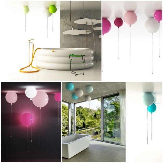 Lampy balony Brokis  http://esencjadesign.pl/brokis/1723-memory-lampa-sufitowa.html