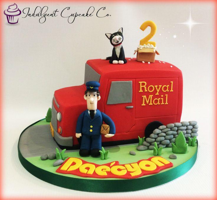 Postman Pat cake.......