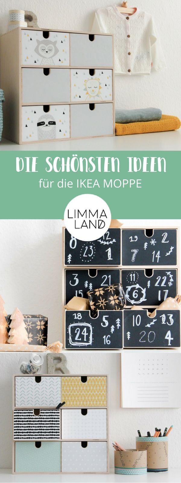 IKEA Mini-Kommode: Die besten Ideen für die MOPPE