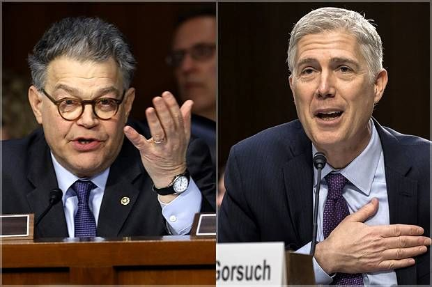 Al Franken's grilling of Gorsuch exposes the heartless cruelty behind conservative legal philosophy - Salon.com