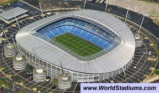 Etihad Stadium (City of Manchester Stadium) in Manchester