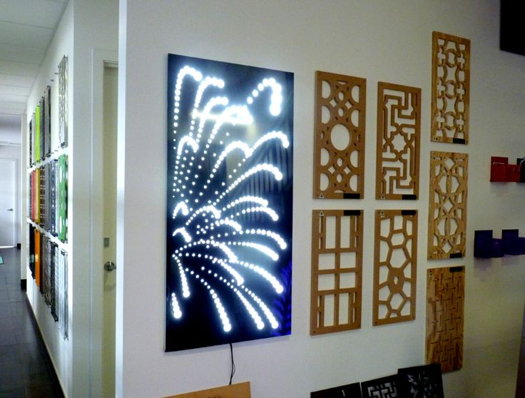 Decorative screen designs like this 'Firweworks' can be made into light boxes and are available as a package through QAQ. 'Fireworks' is just one of our many designs, but the light box really makes this one come alive! ~QAQ