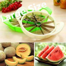 Large Stainless Steel Watermelon Cantaloupe Fruit Cutter & Slicer – Kitchen Tool Utensilios de Cozinha